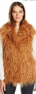 Guess Mid-lengh Faux Fur Vest